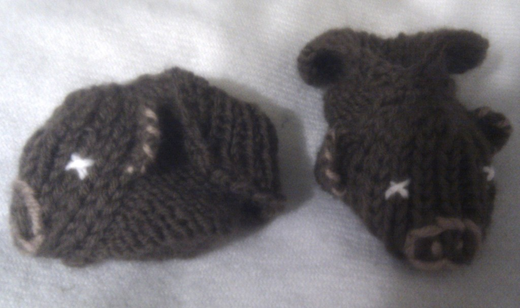 Chaussons oursons